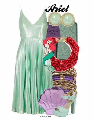 Ariel Party Dress on Polyvore by Amarie104