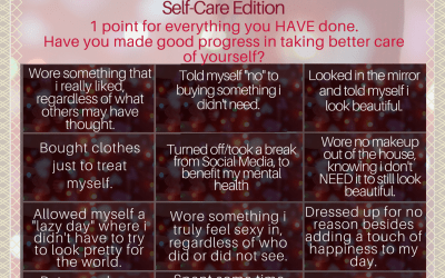 Never Have I Ever – #FashionSelfLoveParty Game – Self-Care Edition