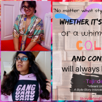 Vibrant Urban Poet: A Style Story Interview with Tajinder Kaur | + Punjabi Culture and Sparking Conversation Through Clothes