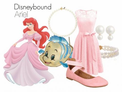 Ariel Classy Dapper Day Pink Dress on Polyvore by HeyleeBeth