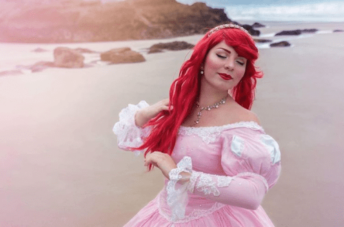 Ariel Costume Cosplay on Instagram Photographed by Fannythz_Photo Modeled and Designed by LittleZanini