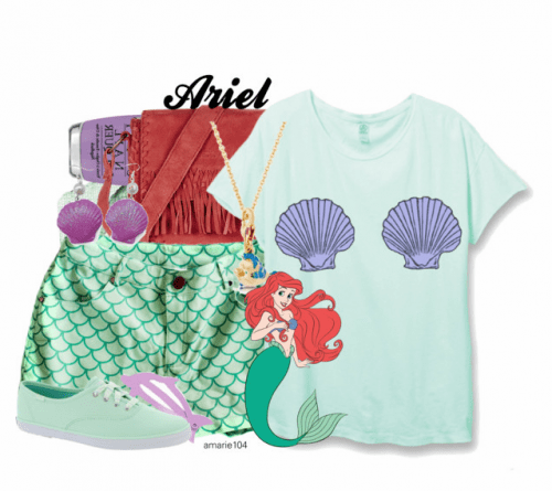 Ariel Symbolic Disneybound Outfit on Polyvore by Amarie104