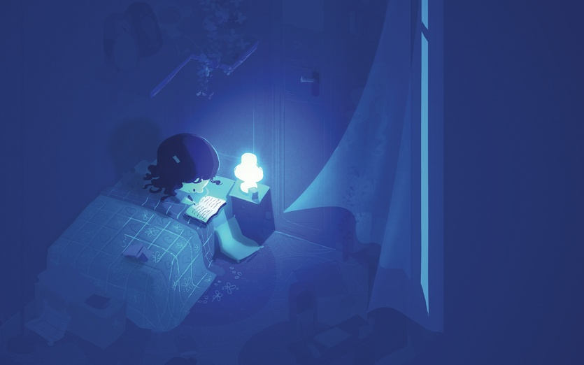 Reading At Night By Pascal Campion On Storybird