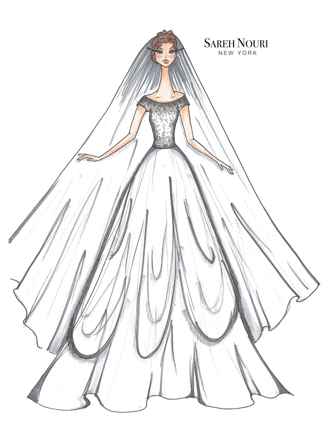 Sareh Nouri Fall 2015 Bridal Collection