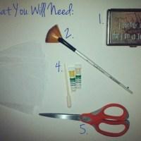 DIY Facial Blotting Tissue Papers!
