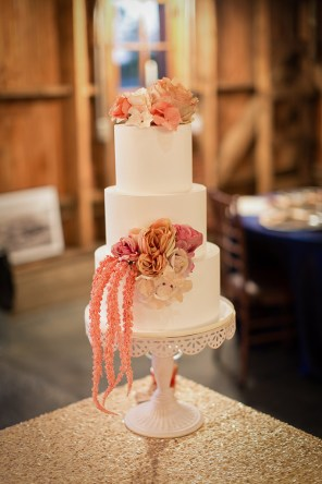 Wedding Cake at Storybook Barn Image credit: Erica Turner, Turner Creative