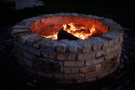 Storybook Barn Fire Pit. Image credit: Gary Allman