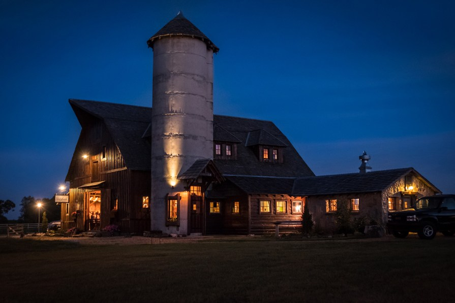 Storybook Barn at Twilight - Glendale High School Class of '67 50th Reunion. Image credit: Gary Allman