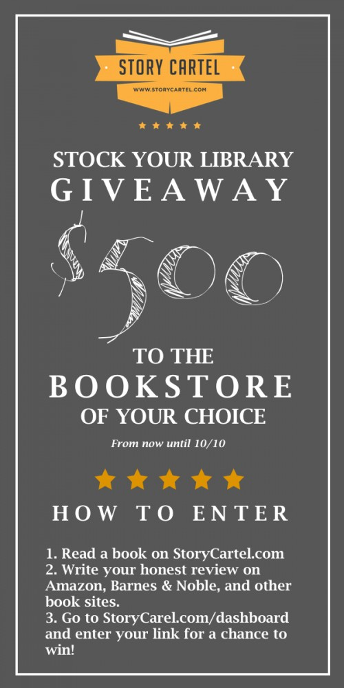 Stock Your Library Giveaway