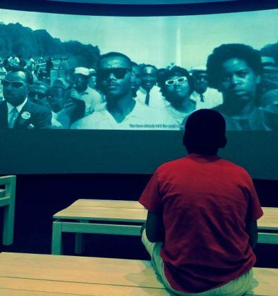 Center for Civil and Human Rights, CCHR, Martin Luther King, MLK, Atlanta, museum, civil rights, John Lewis, Edmund Pettis Bridge, George Wallace, segregation, March on Washington