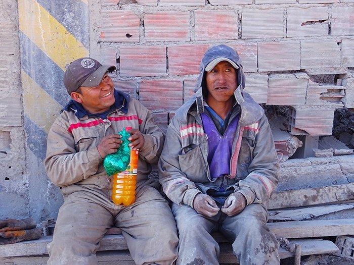 Miners - Cerro Rico mines - Potosi - Bolivia