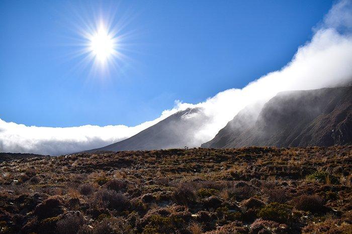 Mount Ngauruhoe - Mount Doom - Tongariro Alpine Crossing - North Island - New Zealand