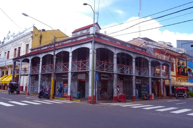 Casa de Fierro (Iron House), Iquitos