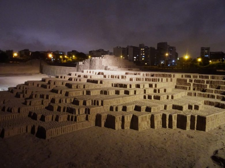 What to do in Lima: take a guided tour of Huaca Pucllana at night