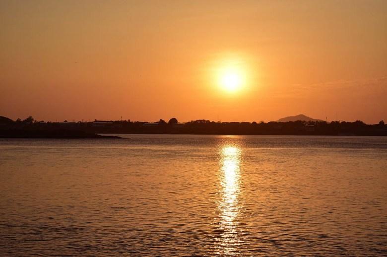 Mekong sunset Savannakhet