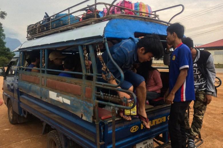 Songtaew Kong Lor Laos