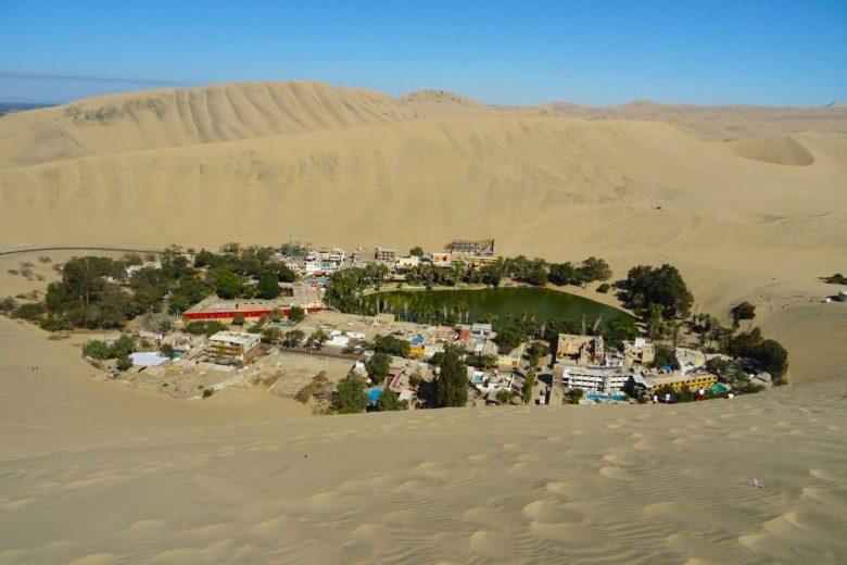 Peru's desert oasis village, Huacachina