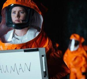 Arrival Whiteboard Human Amy Adams