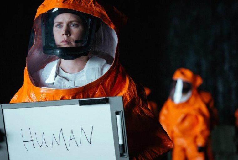 Arrival Whiteboard Human Amy Adams
