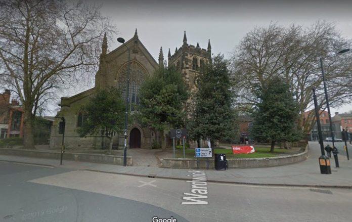 Pictured is St Werburgh's Church, in Derby