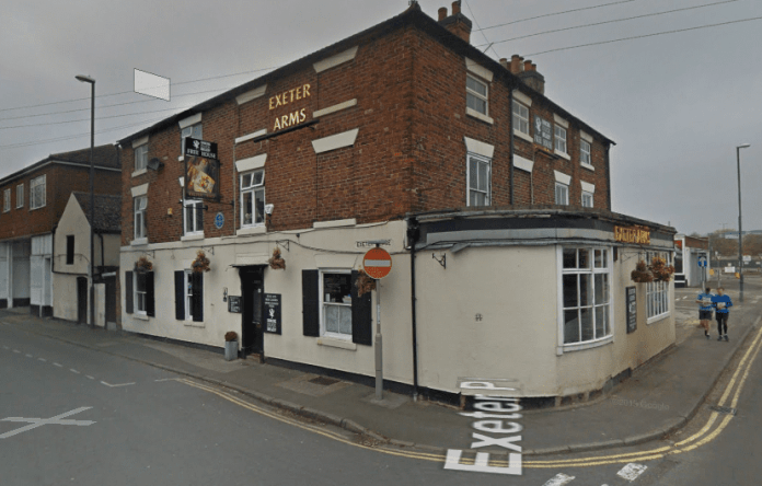 Pictured is the Exeter Arms pub