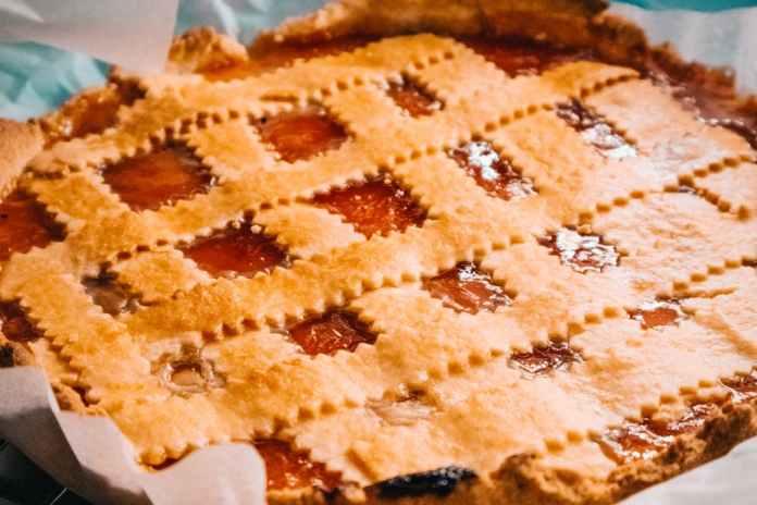 pie up close