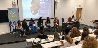 Women's Stories Event at Heap Lecture Theatre, Kedleston Road