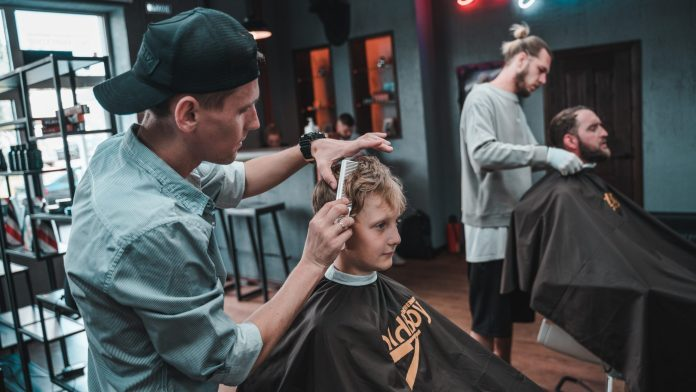 Barbershop reopen for business