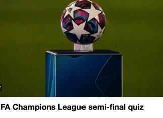 Champions League quiz