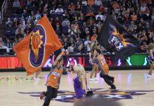 Phoenix Suns centre court