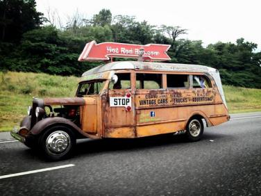 The Hot Rod Bus!!!!