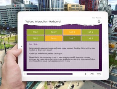 e-learning storyline template horizontal tabs