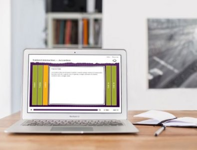 storyline e-learning template interactive accordion tabs