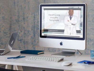 medical industry course starter template storyline
