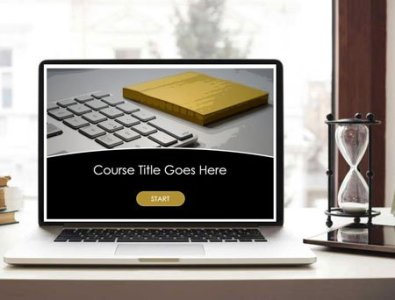e-Learning storyline course starter template