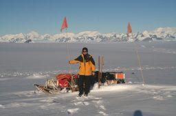 Jean McNeil in the Antarctic