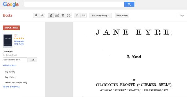 Image of Google Books webpage.