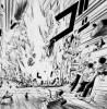 『金色のガッシュ』アクションシーン 「ザケル!」魔物の子供の口から電撃が放たれた!