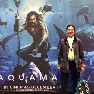 Aloha, Aquaman.
