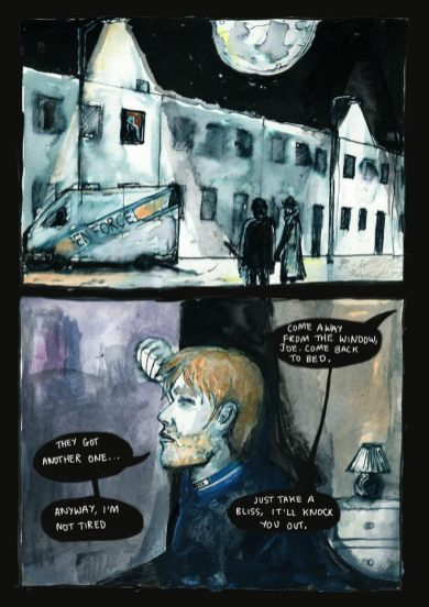 Author: Tom Smith. Illustrator: Clare Thompson. © Frisson Comics.
