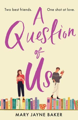 Mary Jayne Baker, A Question of Us, Aria Fiction, Head of Zeus