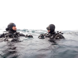The happy faces of diving