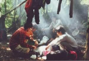 di pos III gunung Tambora