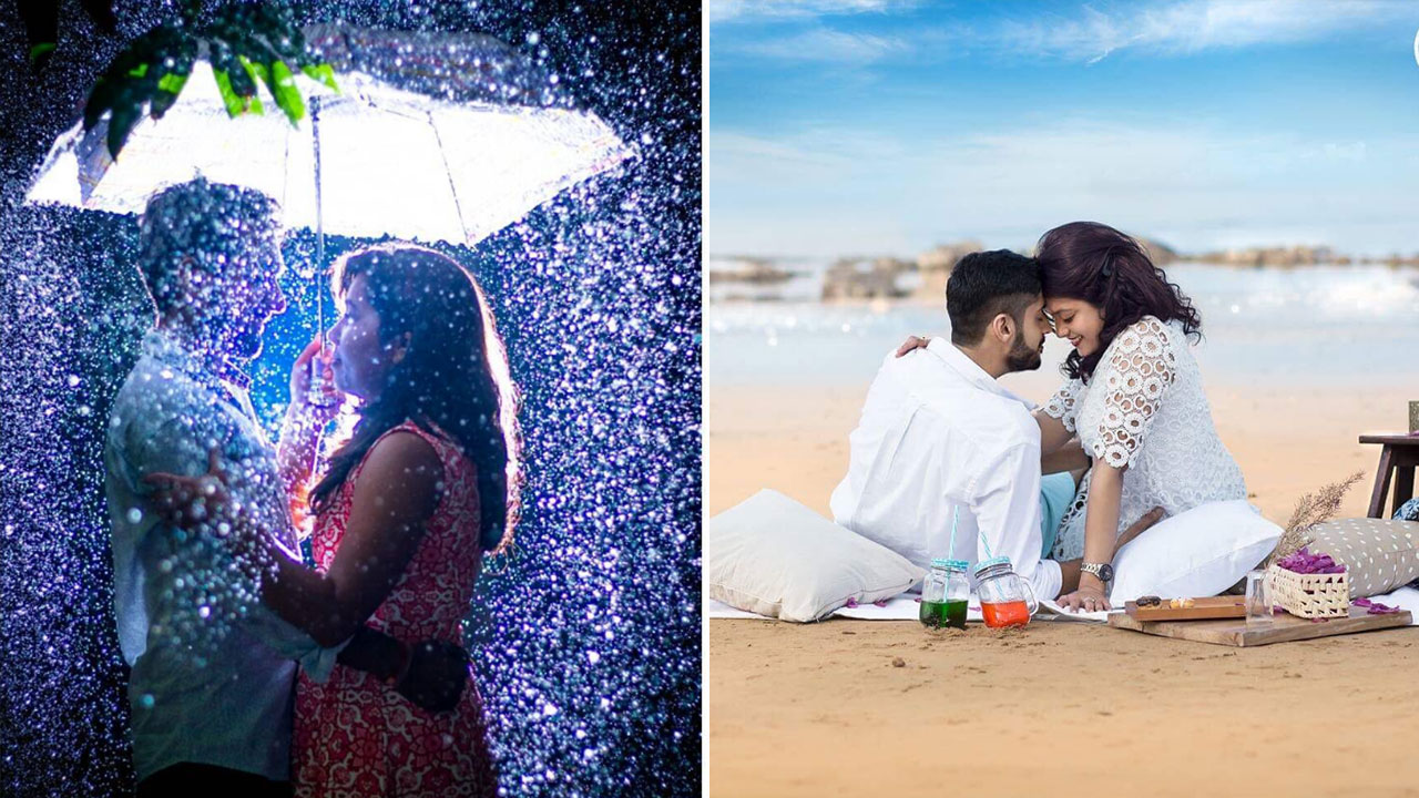 25 Pre-Wedding Photoshoot Ideas You Can Steal Right Now