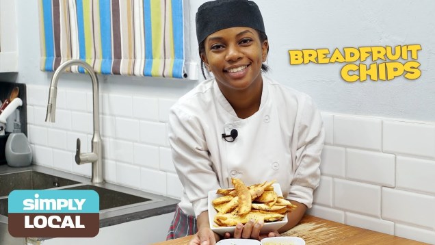 E7: Breadfruit Chips | Simply Local by Eathahfood