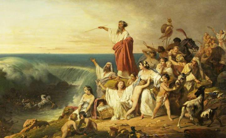 Superhero Stories - Moses Parting The Red Sea