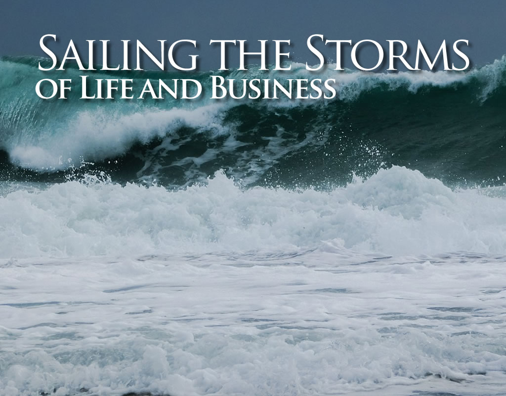 header - conflict: sailing the storms of life and business