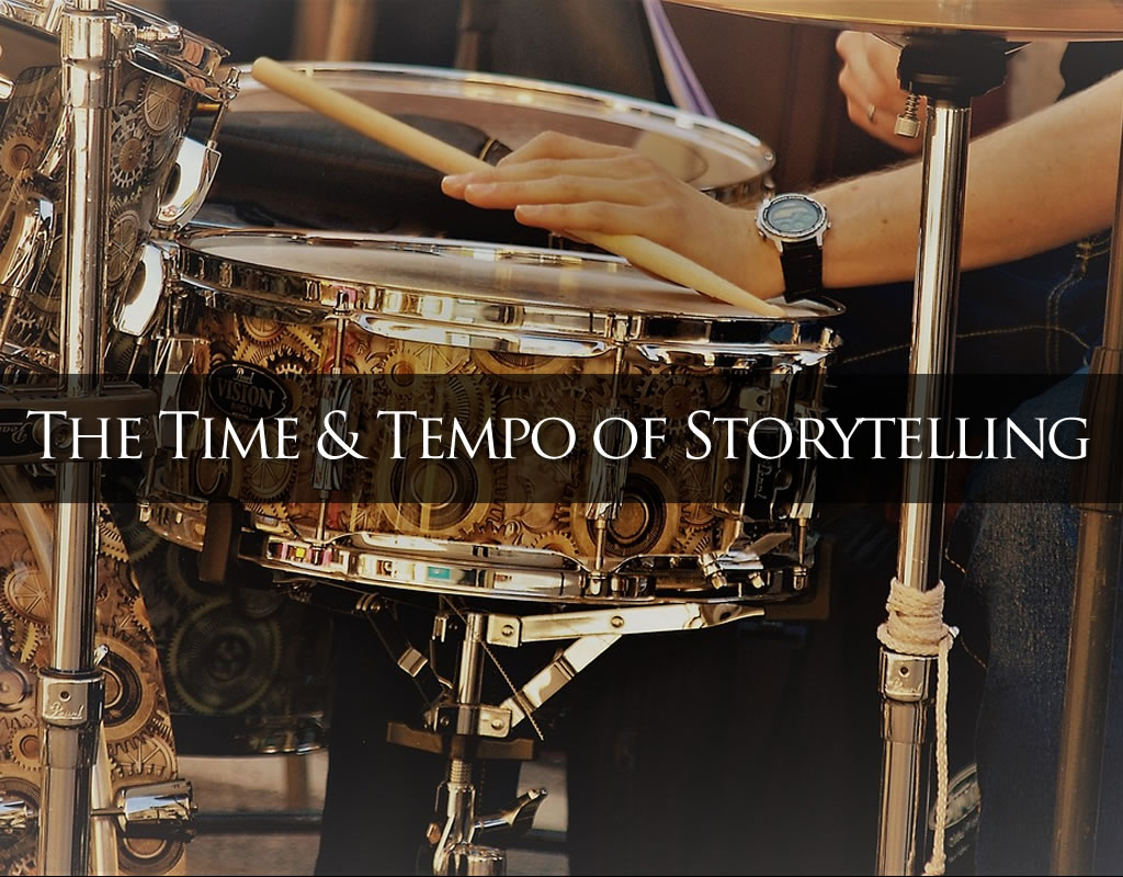 time and tempo header