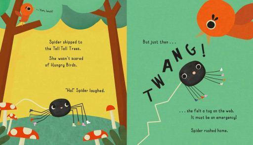 NOTHING SCARES SPIDER! - Bird - Story Snug