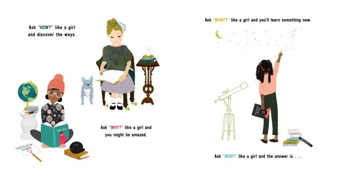 Like A Girl inspirational spread - Story Snug